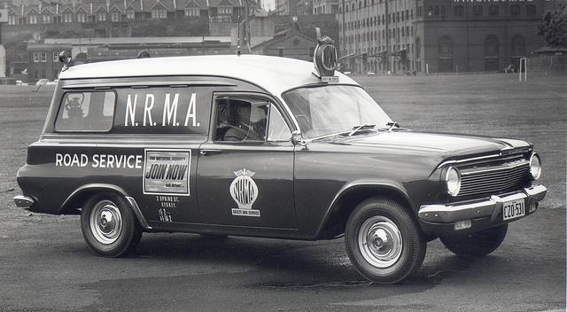 NRMA EJ Holden Panelvan