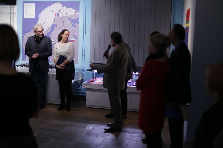 """#Wernisaż- #wystawa ,,Opowieści z krainy Saamów"""""""