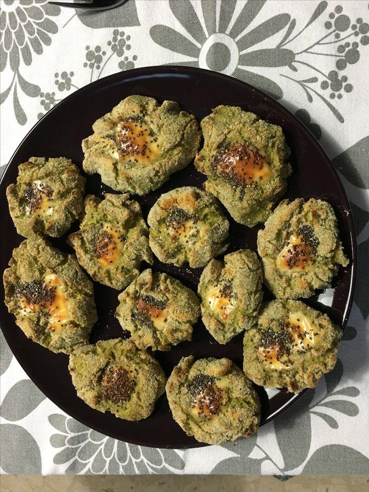 Quenelle di broccoli con cuore al formaggio