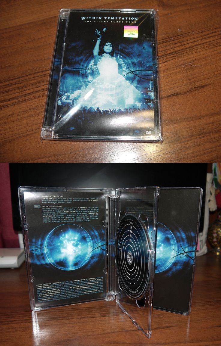 Within Temptation - The Silent Force Tour (super jewel case 2DVD) Sony Russia 2005