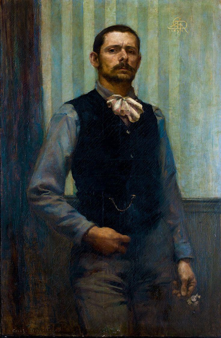 Desvallières (18611950) • Autoportrait, 1891 L