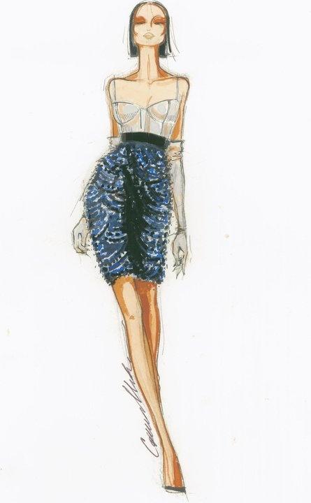 Fashion sketch                                                       …