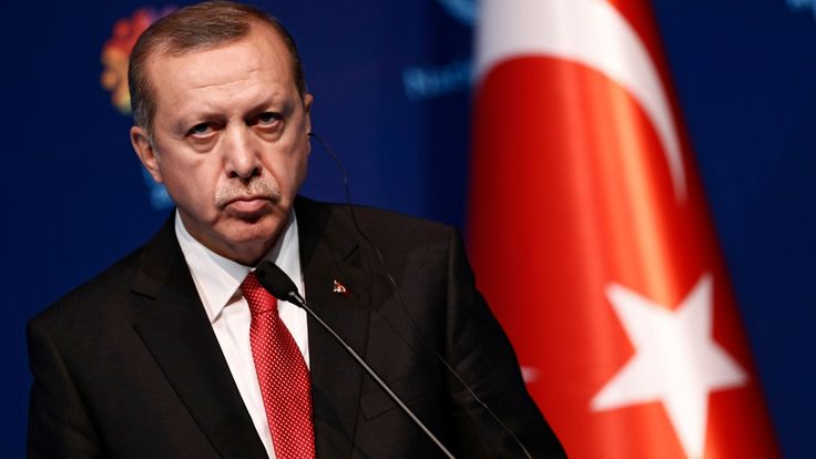 Erdogan is, as always, a manipulative and megalomaniacal sack of Islamic fundamentalis shit trying unsuccessfully to convince westerners he shares their values. Under Erdogan, Turkey does not belong in the EU and seems more interested in a return for autocracy, fundamentalism and barbarism. What an asshole.