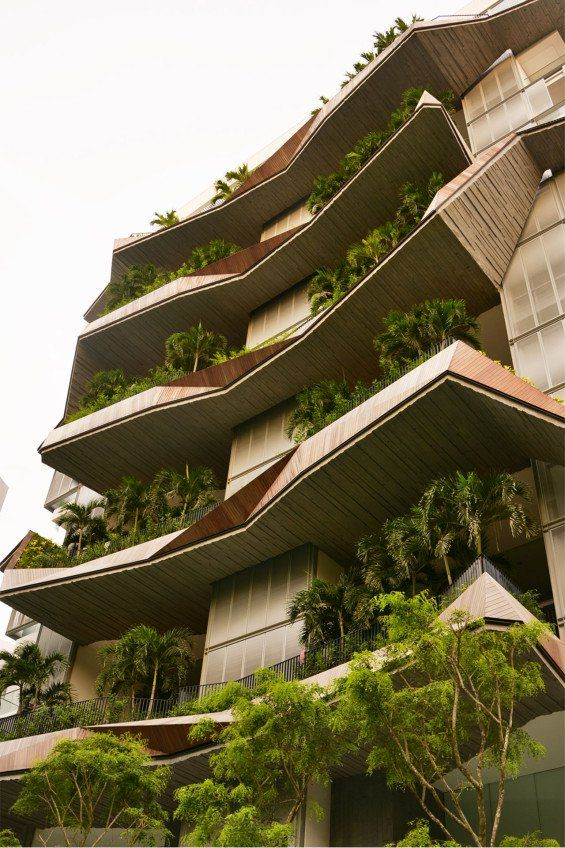The Oliv Balmoral Road Singapore Icn Design Green Building Architecture Facade Architecture Green Architecture
