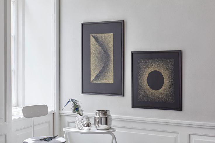MENU Afteroom dining chair & Table & Tactile Vase. Photographer Enok-Holsegaard Yellows-Studio for designer Kristina-Krogh