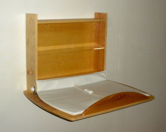 Baby Changing Table Wall Mounted By Kinderandwellness On