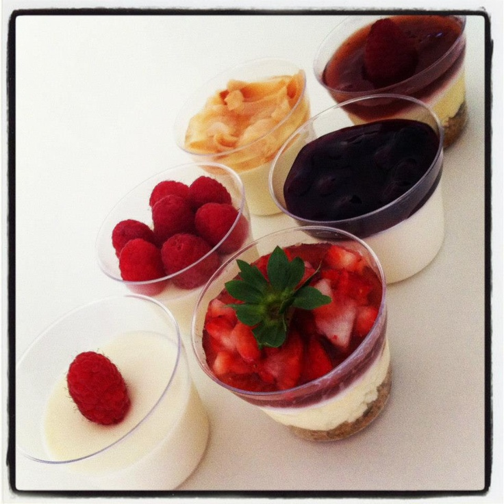 Panna Cottas & CheeseCakes