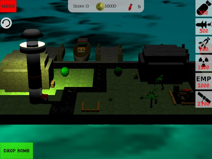 Blocky bomb apocalypse #harbor #minecraft