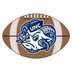 Ncaa University of North Carolina Chapel Hill Ram Logo Brown 1 ft. 10 in. x 2 ft. 11 in. Specialty Accent Rug