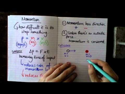 ▶ BCS GCSE Additional Physics Revision -- Momentum Conservation - YouTube