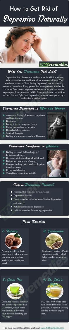 There are various natural ways to treat depression, such as  Homeopathic…