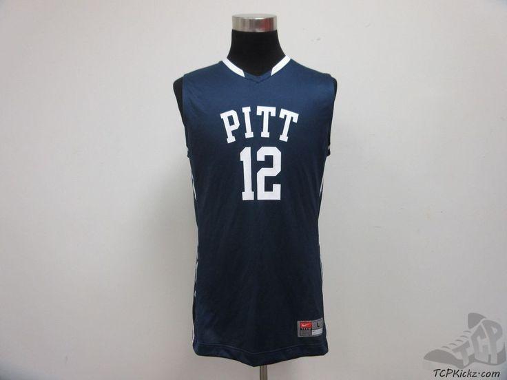 Nike Pittsburgh Pitt Panthers Basketball Jersey #12 sz L Large NCAA University #Nike #PittPanthers #tcpkickz