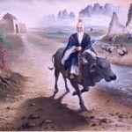 Lao-Tse, uno de los filósofos más importantes de China, redactó el libro a partir del cual se crearía la doctrina filosófica y religiosa del taoísmo.