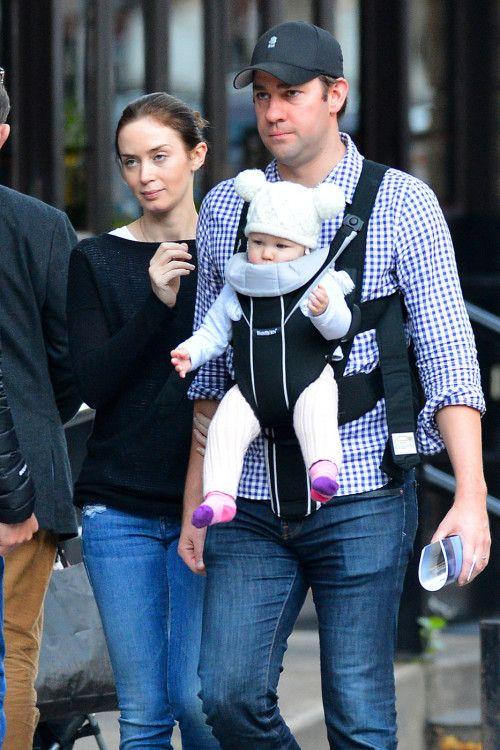 Emily Blunt & John Krasinski's Big Apple Baby