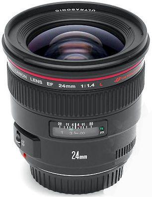 Canon 24mm 1.4ii