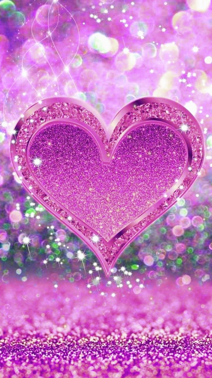 Wallpaper By Artist Unknown Wallpaper Iphone Love Heart Iphone Wallpaper New Wallpaper Iphone Glitter pink love wallpaper