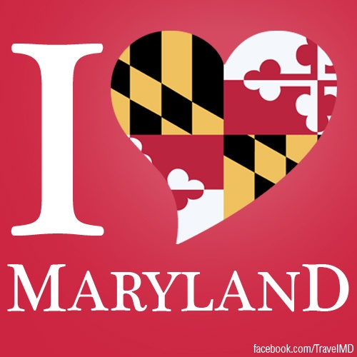 REPIN if you LOVE MARYLAND! Join us on facebook as well by clicking the image.