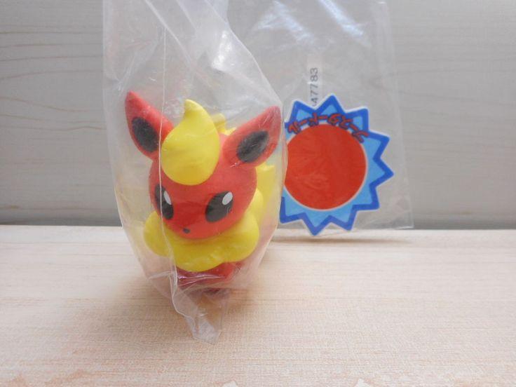 Pokemon Flareon Kuji Figure Wakuwaku Prize Banpresto Pokedoll #Banpresto
