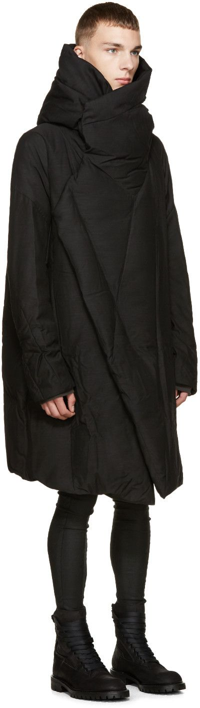 Julius Black Down Coat