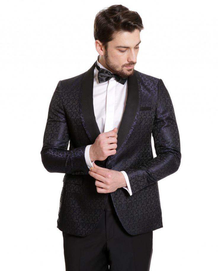 Ceket ve Blazer Ceket : Toss Erkek 6 Drop Seremoni Ceket - Lacivert #gentleman #suit #takımelbise #karaca #ciftgeyikkaraca  www.karaca.com.tr