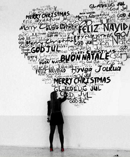 Merry Christmas in all languages /Buon Natale/