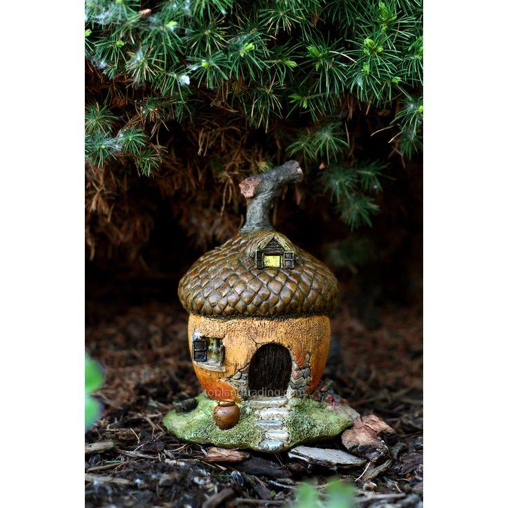 Tiny Woodland Acorn Fairy House