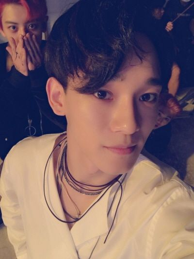 Chen, Chanyeol, Suho - 160818 Official EXO-L website update Credit: Official…