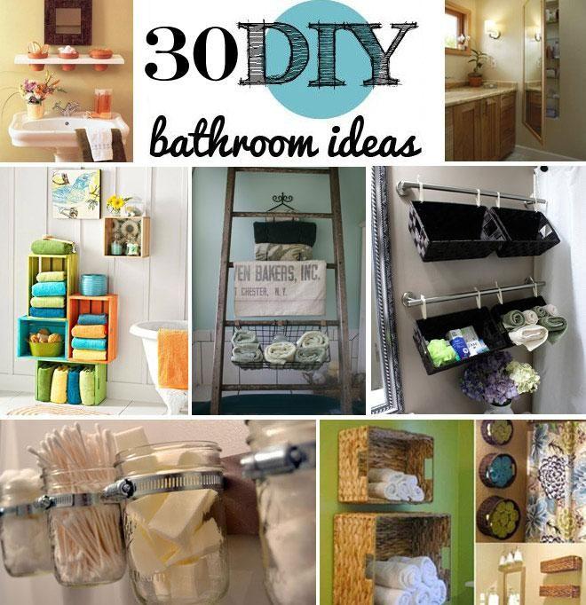 Amazing Bathroom Ideas Diy Diy Pinterest
