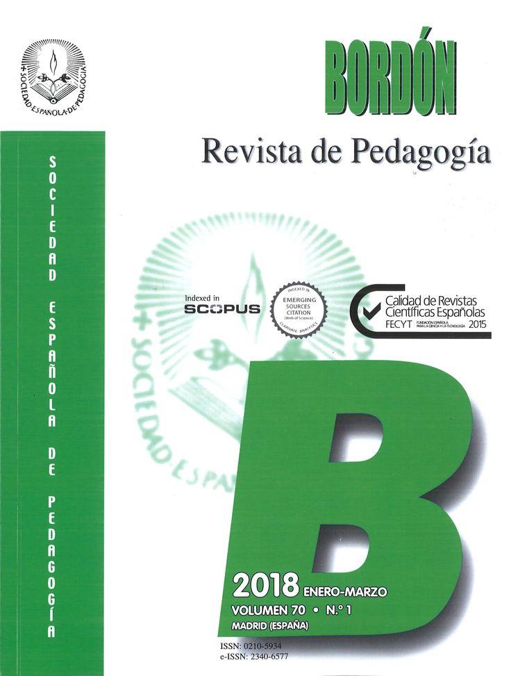 Bordón, revista de pedagogía. Vol. 70, n. 1 (enero-marzo 2018)