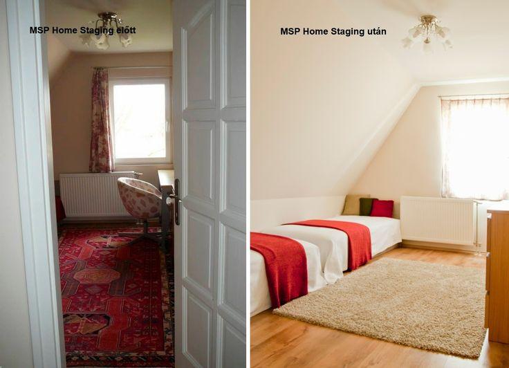 MSP Home Staging - Tudatos ingatlanfelkészítés és -értékesítési marketing: Újabb MSP Home Staging előtt és utáni fotók