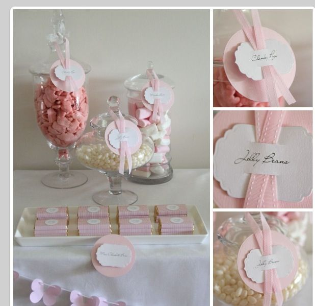 Baptism party ideas... Love the jars