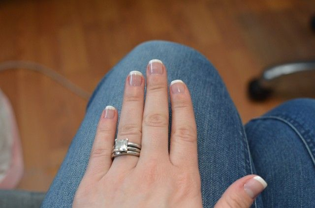 How to do an at-home gel French manicure