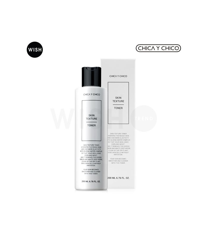 The pure formular for shoothing, birhgtening and sebum cotrol. Skin texture toner will make your skin to be more glow!