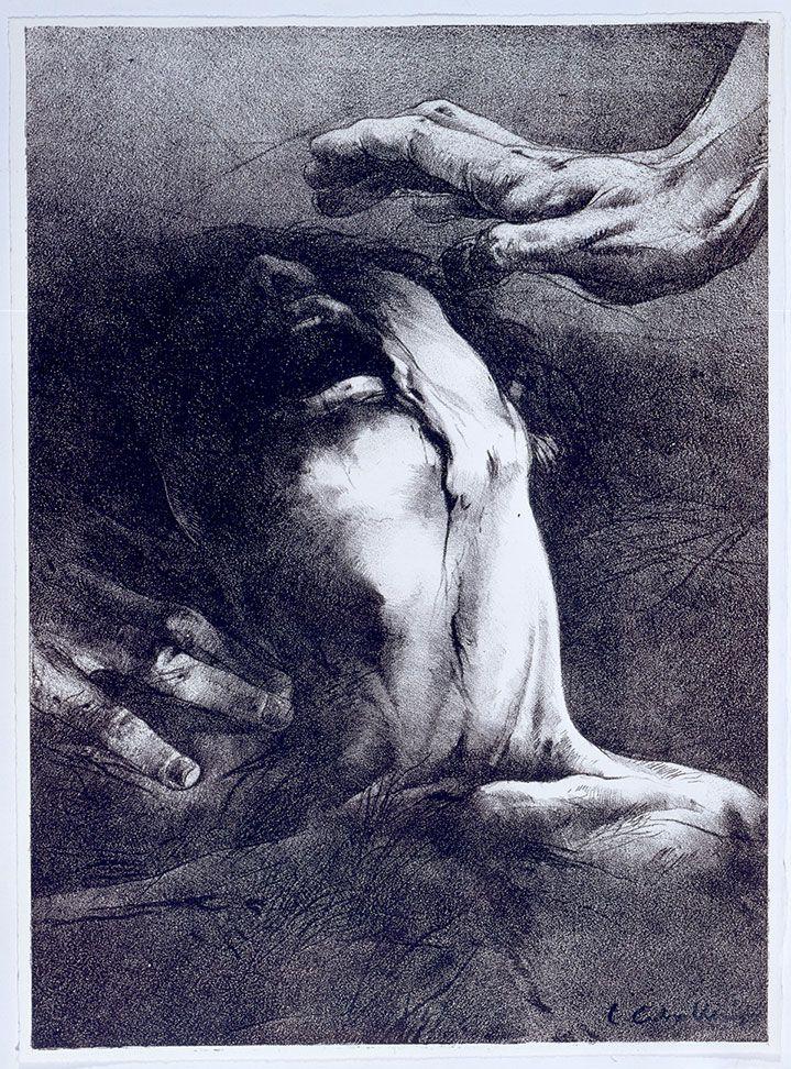 Obra de Luis Caballero.