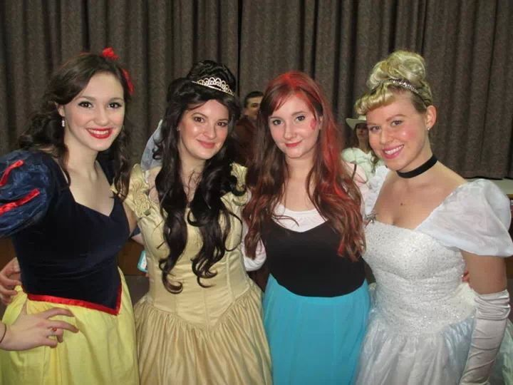 Some of my gorgeous fellow Princesses <3