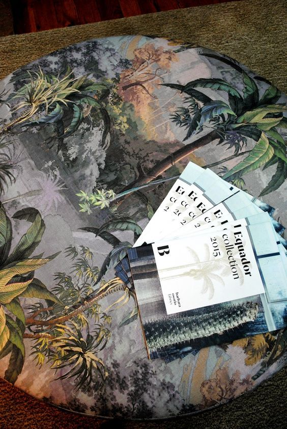 Barbara Osorio Equador Collection #jungle #interior #fabric
