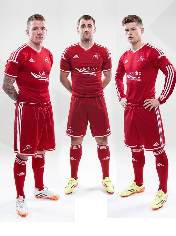 Aberdeen FC 2014-15 home kit