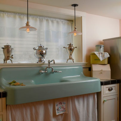 Seattle Home Cast Iron Sink Design Ideas, Pictures, Remodel, and Decor ...
