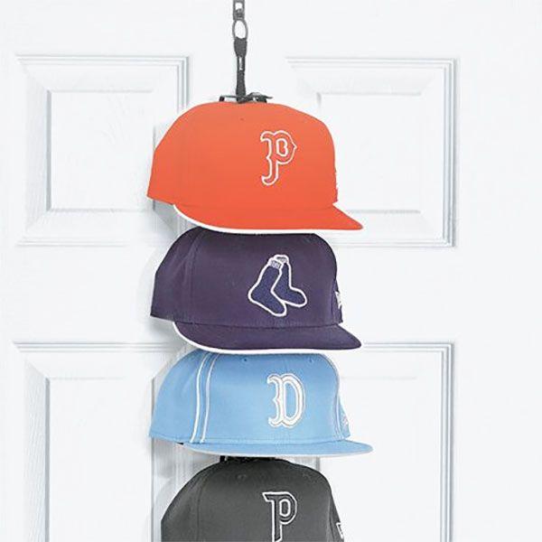 Best 25 cap rack ideas on pinterest hat hanger baseball shop and hat holder - Creative hat storage ideas ...