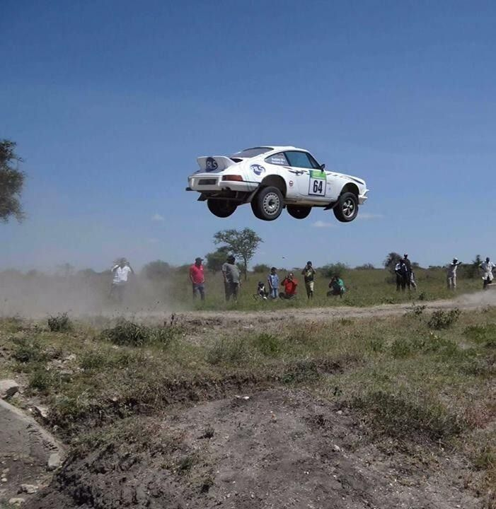 Who says Porsches can't fly?