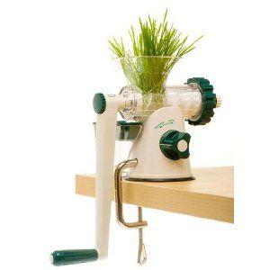 Vitality4Life Lexen Manueller Weizengras Entsafter: Amazon.de: Küche & Haushalt