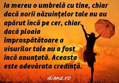 Ia mereu o umbrelă cu tine - O poveste despre credinţă