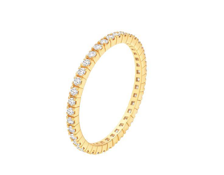 Eternity Bands Ehering 18 Karat Gelbgold AN856429 - Entdecken Sie die Bulgari Kollektionen und erfahren Sie mehr über den ausgezeichneten italienischen Juwelier auf der offiziellen Website.