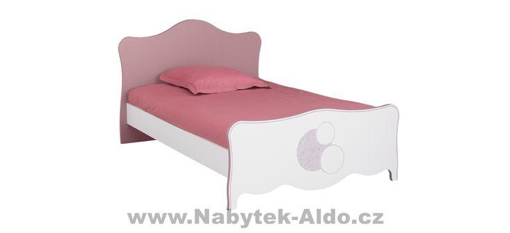 Dětská postel ideální pro slečnu
