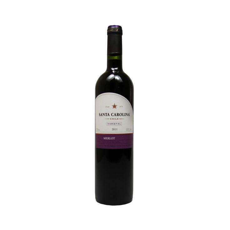 Vinho Santa Carolina Merlot Varietal, 2011 http://www.buywine.com.br/vinho-santa-carolina-merlot-varietal-2011/p