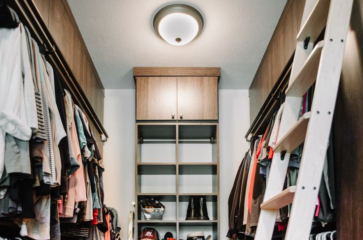 This Gorgeous Walk In Custom Closet Made The Most Use Of Functional Space  With A Rolling