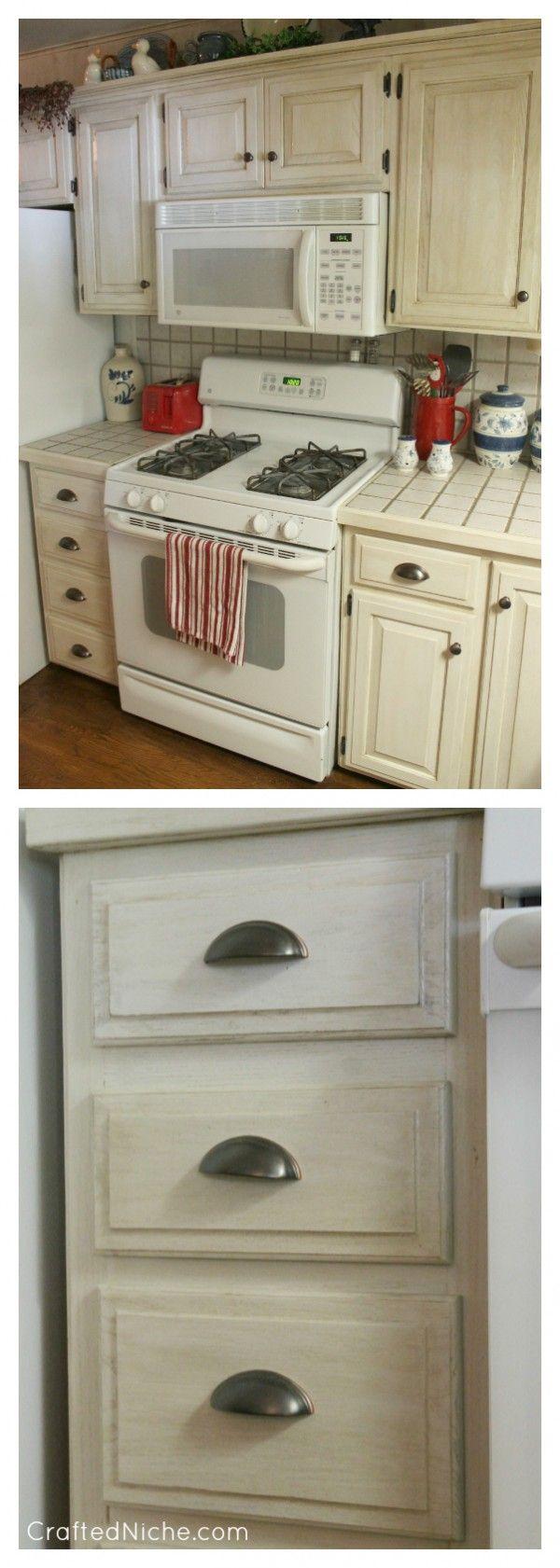 Rustoleum Transformations Linen 3 Kitchen Makeover