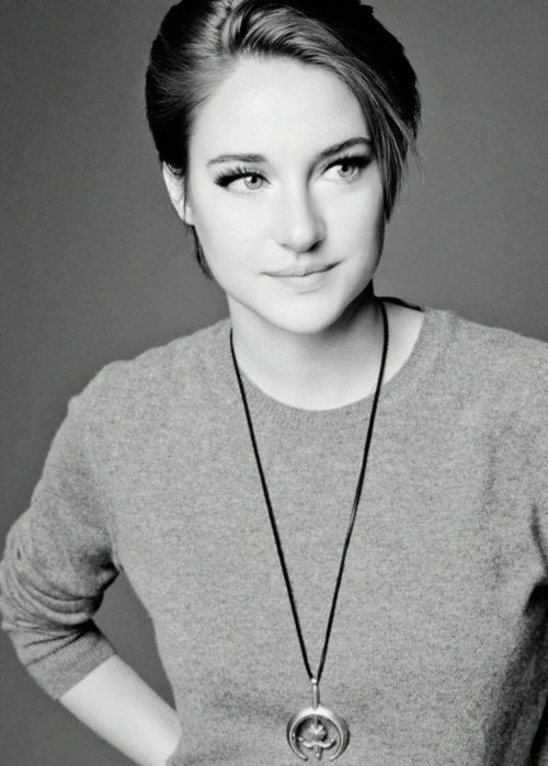 Shailene Woodley Only seen her acting in The Spectacular Now however, she's not only a marvelous actress but a really down to earth person as well