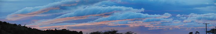 The sky over NewHaven Surat Bay New Zealand April 2016 - Painted Skies