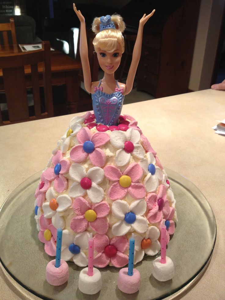 Taylor's Dolly Varden Birthday Cake... Nailed it!